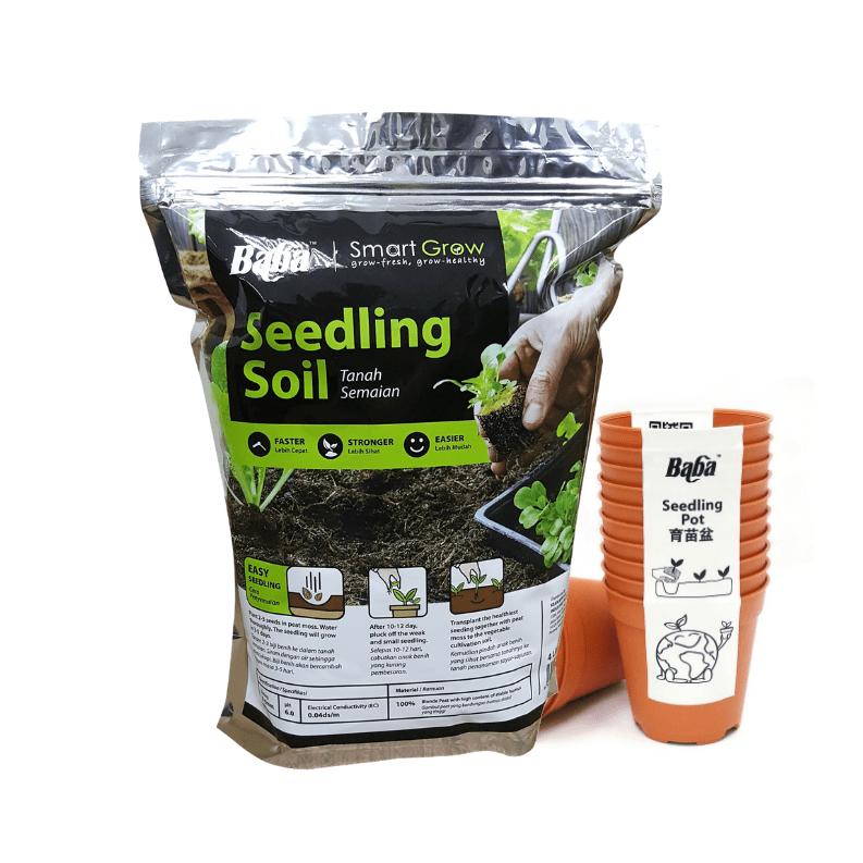 Buy Seedling Soil + Seedling pot