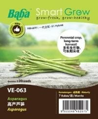 Baba Smart Grow Series VE-063 Asparagus