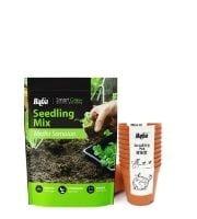 Baba seedling soil & pots