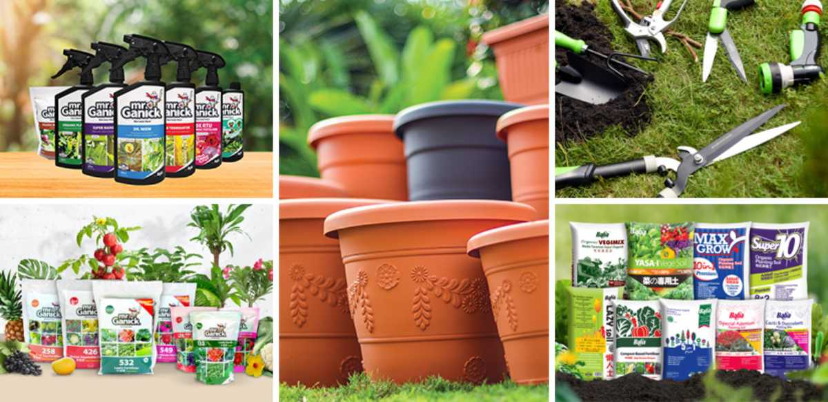 Our Gardening Products | Gardening Gadgets | Baba Gardening
