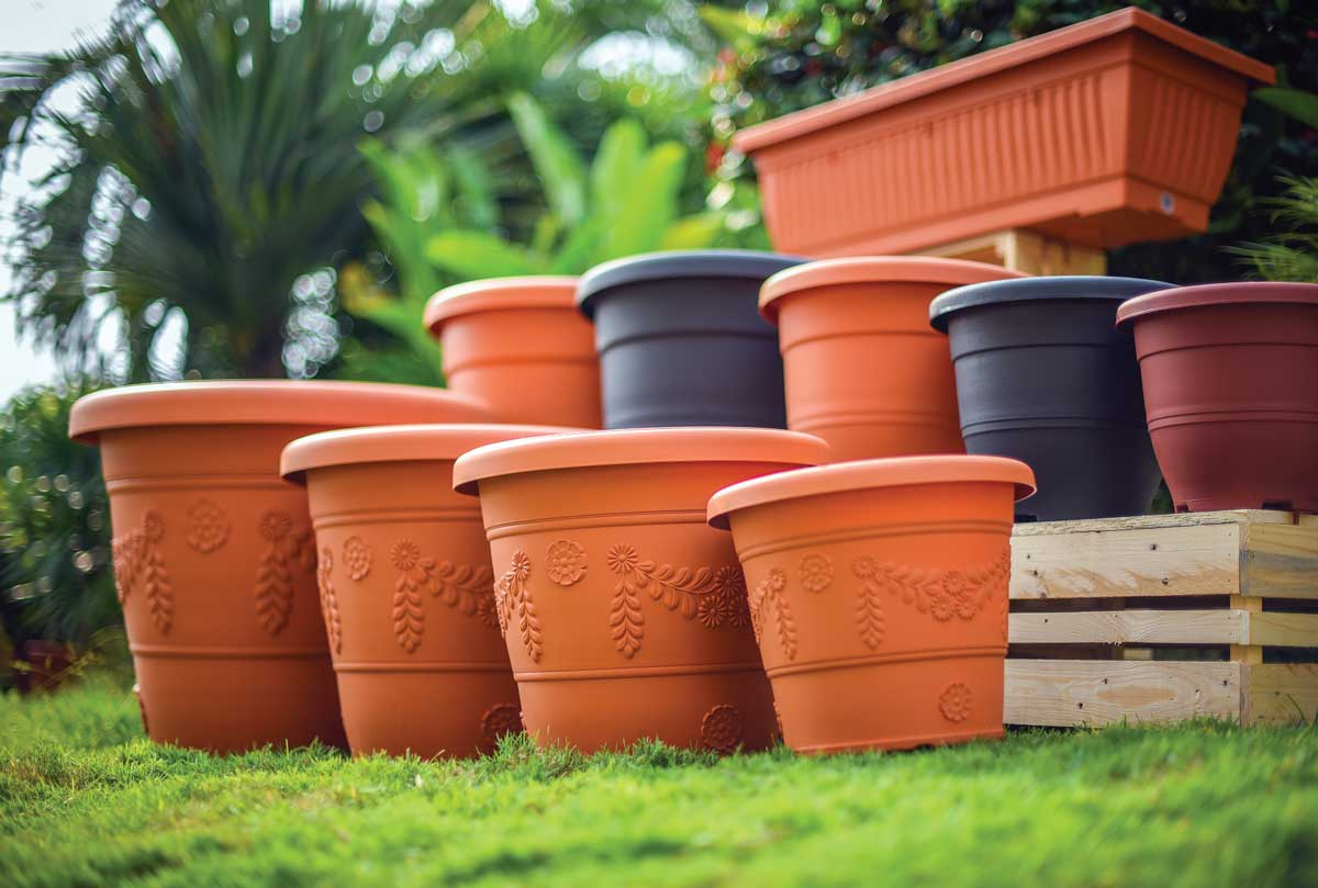 Flower Pot | Eco-Friendly | Biodegradable | Baba Gardening