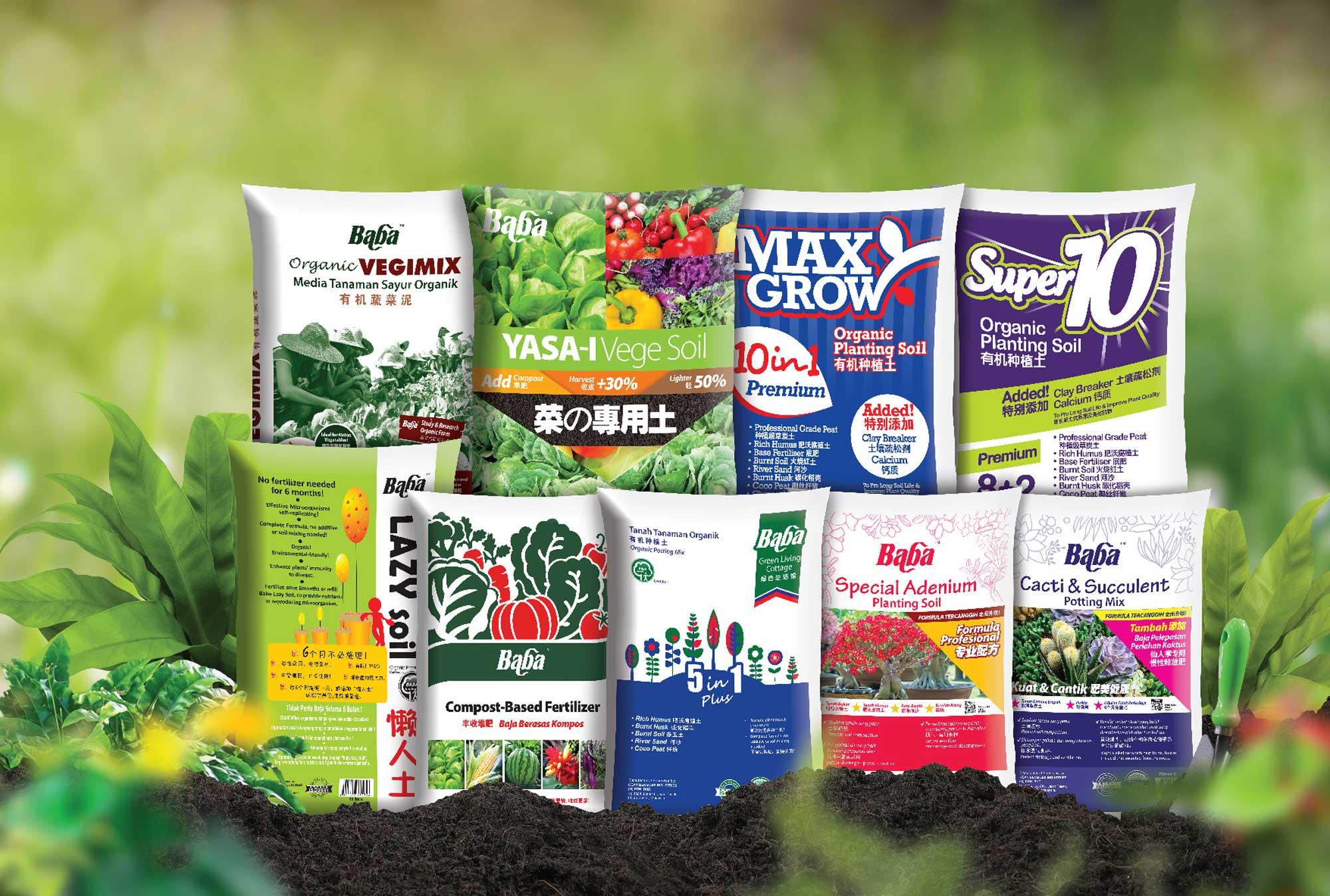 Organic Soil | Soil for the Garden | Baba Gardening